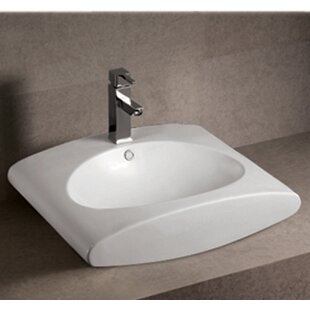 Best Reviews Isabella Ceramic Oval Vessel Bathroom Sink with Overflow By Whitehaus Collection