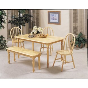 Hogans Traditional Dining Table August Grove