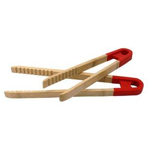 Bamboo Tongs (Set of 2)