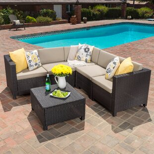 Aurelius 6 Piece Sectional Set with Cushions
