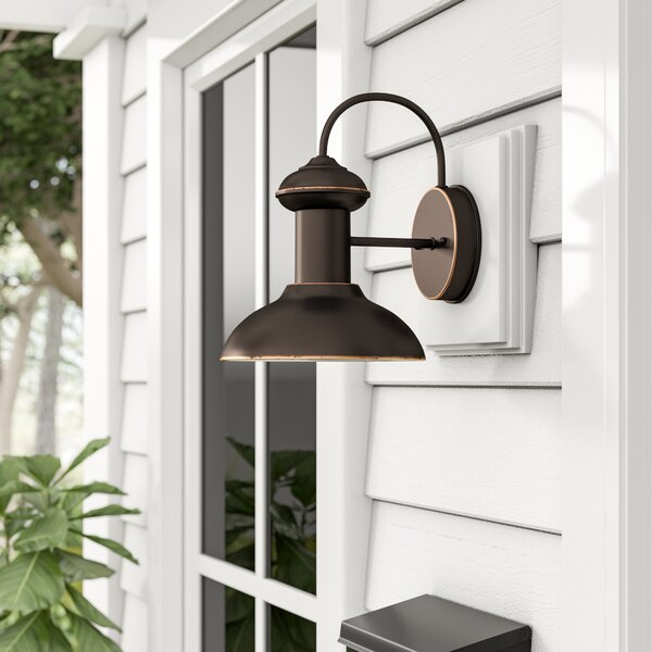 Outdoor Lighting For Beach House: Beachcrest Home Crandallwood Outdoor Barn Light & Reviews
