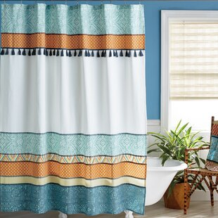 Kraig Cotton Single Shower Curtain