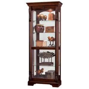 Bernadette Lighted Curio Cabinet by Howar..