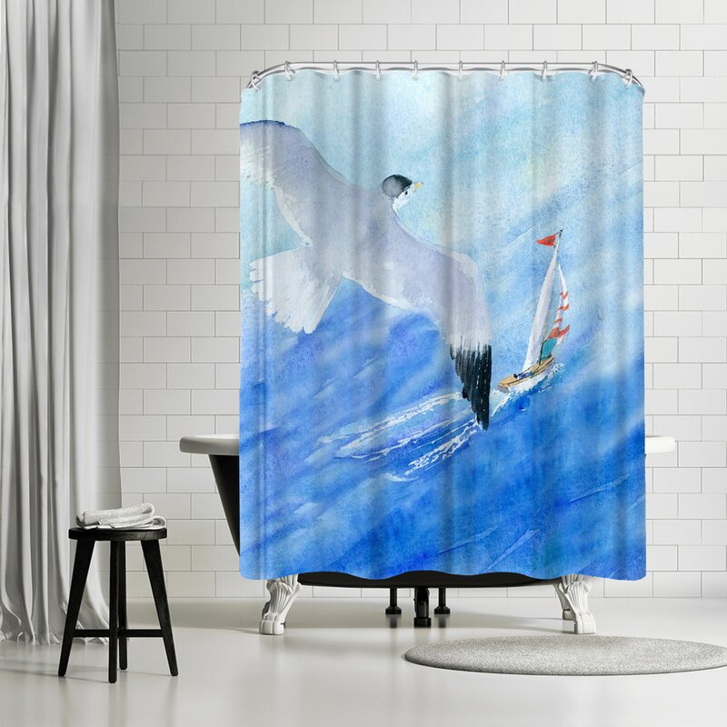 Rachel McNaughton Flight And Sail Shower Curtain