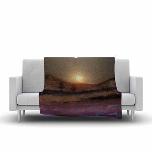 Viviana Gonzalez Calling the Sun V Fleece Blanket ByEast Urban Home