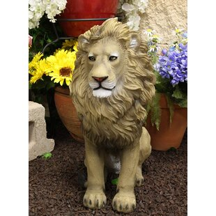Ebros Gift Large African Wildlife King Lion Descending from Pride Rock Statue