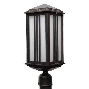 Best Reviews Petrey 1-Light Lantern Head By Alcott Hill