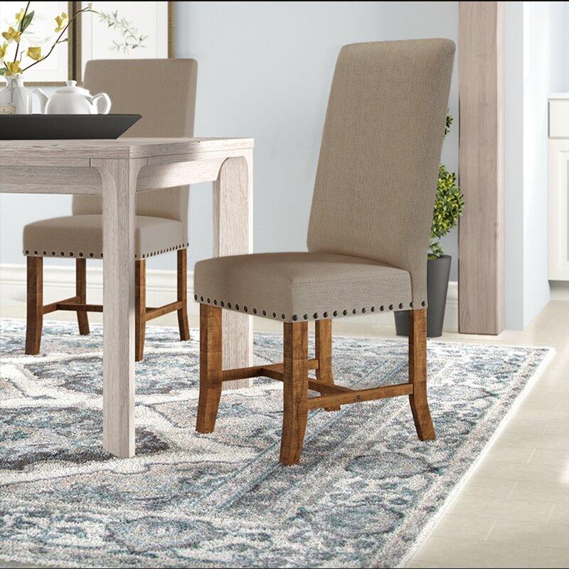 Laurel Foundry Modern Farmhouse Montcalm Upholstered Dining Chair Reviews Wayfair