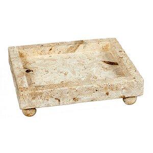 Square Soapstone Tray