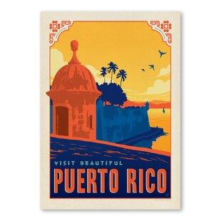 Puerto Rico Vintage Adver