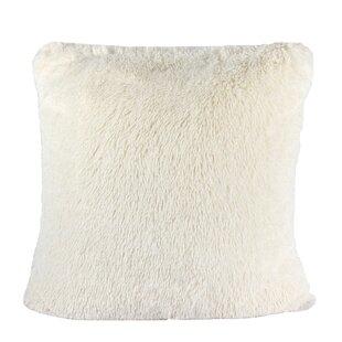 Kimmel Fur Double Side Luxury Fluffy Plush Throw Pillow