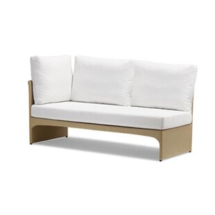 Cerise Right Corner Sectional Piece with Cushions