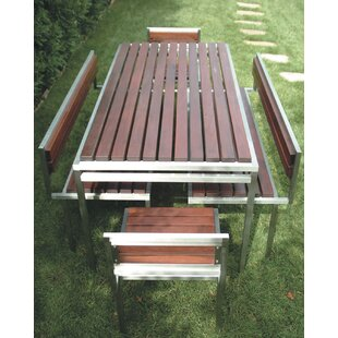 Talt Garden Stainless Steel Dining Table