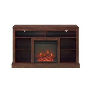 Mahaffey 52 TV Stand with Fireplace by August Grove