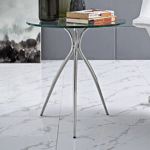 Savings Moxy Glass Top End Table by Modway
