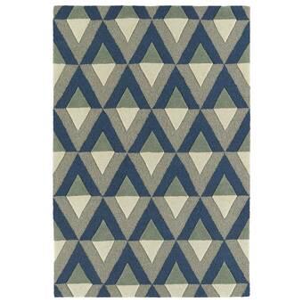 Ebern Designs Benedick Polka Dots Green Area Rug Wayfair