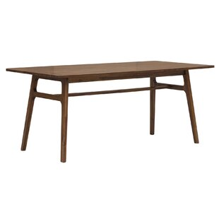 Langton Solid Wood Dining Table by Union Rustic Reviews
