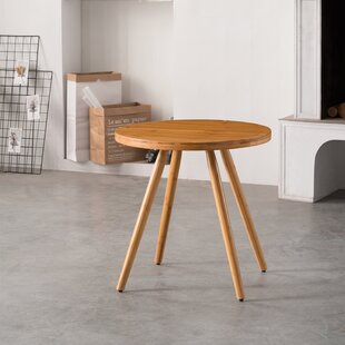 Cottage Bamboo Round Dining Table by Wrought Studio 2019 Coupon