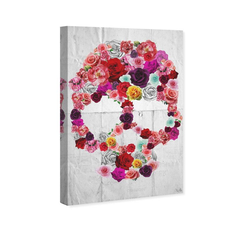 Hotgoldfish Corp Bed Of Roses By Oliver Gal On Canvas Wayfair