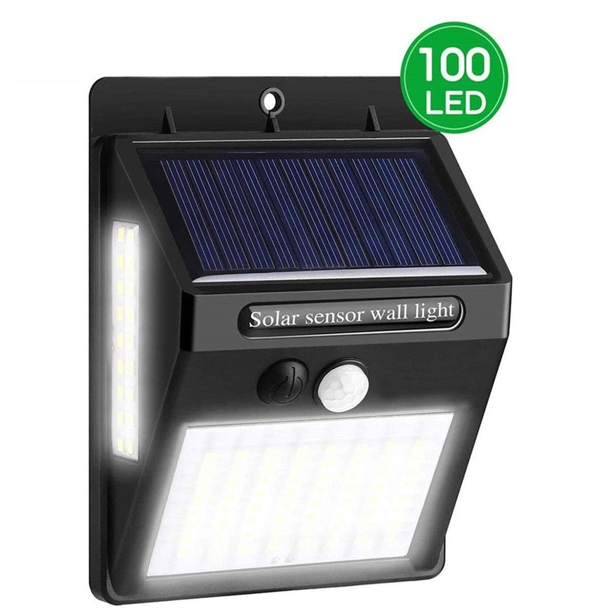 Linkpal 0 005 Watt Led Solar Power Dusk To Dawn Outdoor Security Wall Pack With Motion Sensor Wayfair