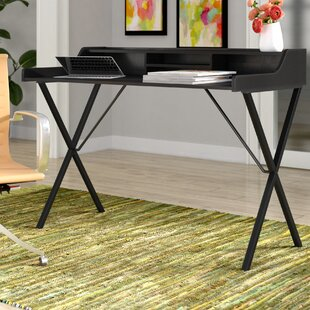 Catana 3 Shelf Writing Desk by Wade Logan Best #1