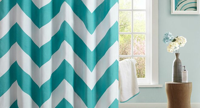 top 16 colorful shower curtains - Colorful Shower Curtains