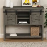 Cando 40 Solid Wood Console Table by Gracie Oaks