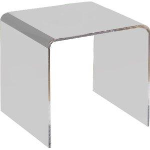 plastic & acrylic end & side tables you'll love | wayfair
