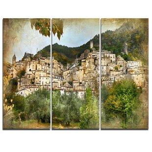 Italian Village Wall Art Wayfair Ca