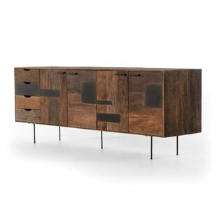 Attell Media TV Stand for TVs up to 88