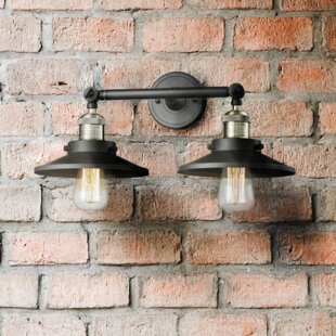 Mikesell 2-Light Vanity Light By Williston Forge