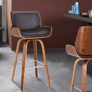 Price comparison Oakham 26 Swivel Bar Stool by George Oliver Reviews (2019) & Buyer's Guide