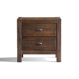 Montauk 2 - Drawer Solid Wood Nightstand