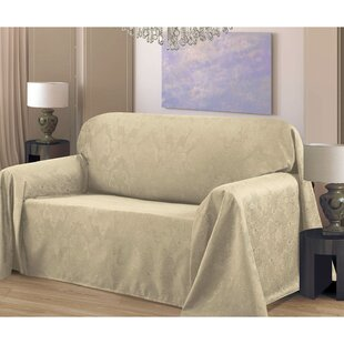 Medallion Box Cushion Sofa Slipcover by Bella Luna