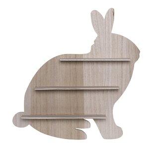 Mykel Wood Bunny Shelf