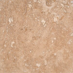 Tuscany Walnut 12'' x 12'' Travertine Field Tile in Honed Brown