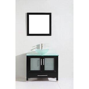 Shopping for Prado 36 Single Sink Bathroom Vanity Set with Mirror ByOrren Ellis