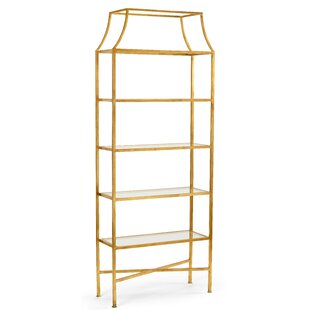 Clancy Etagere Bookcase by Wildwood