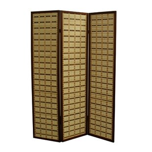 7025 X 52 Two Toned Bamboo 3 Panel Room Divider By ORE Furniture