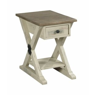 Buying Wesley Trestle End Table with Storage By Highland Dunes