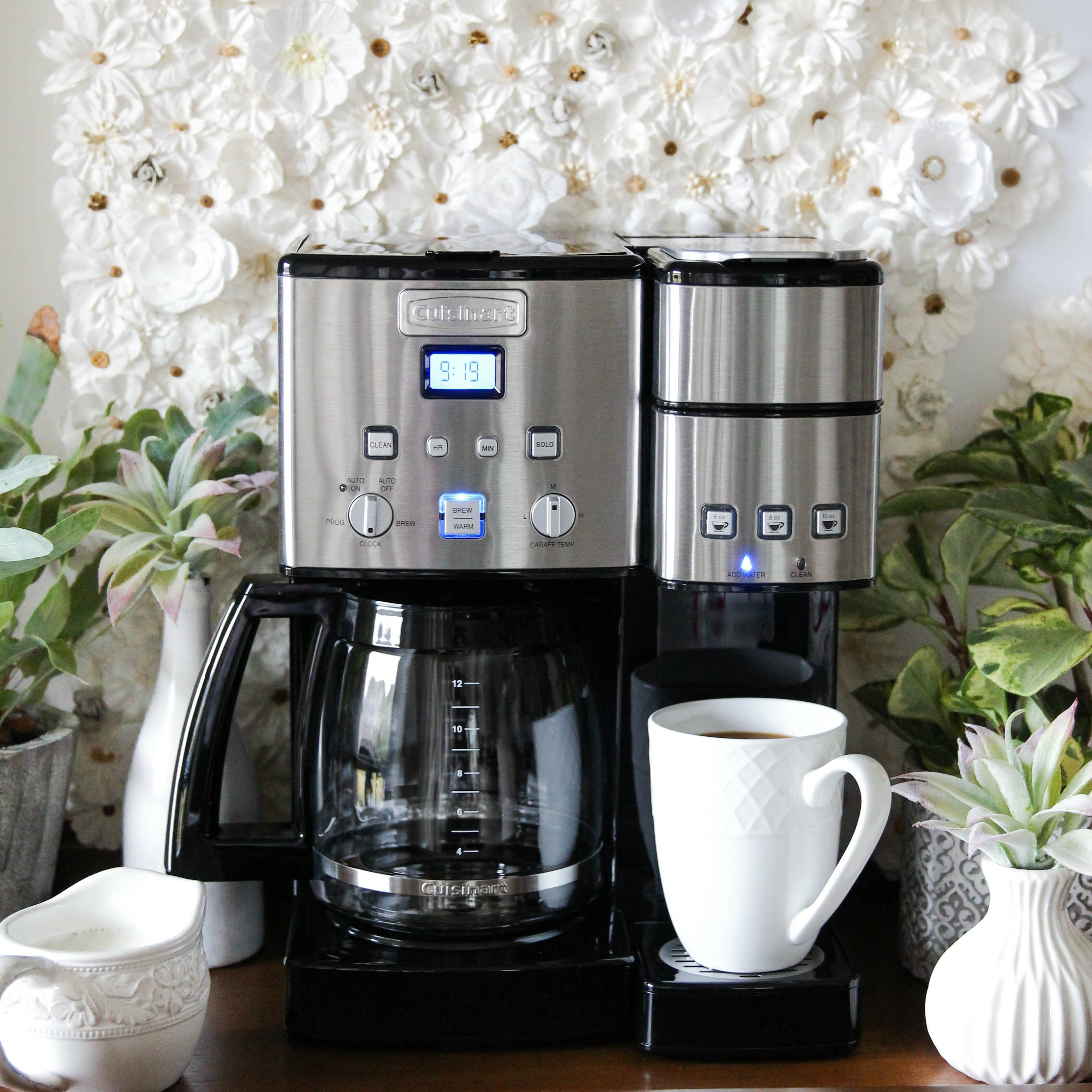 Cuisinart Coffee Center™ 12 Cup Coffeemaker and Single-Serve Brewer & Reviews