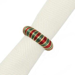 Yarn Wrap A Napkin Ring (Set of 12)