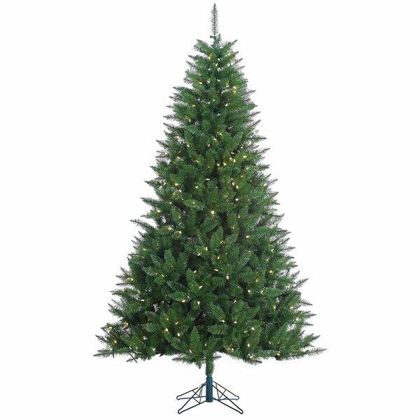 Kennedy Fir Christmas Tree: The Holiday Aisle Kennedy 7.5' Green Fir Artificial