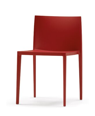 Andreu World Sail Side Chair (Set of 6) Finish: Cayenne Red