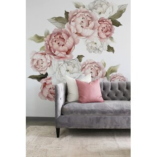 a7443e0880f Blushing Peonies Wall Decal (Set of 32)