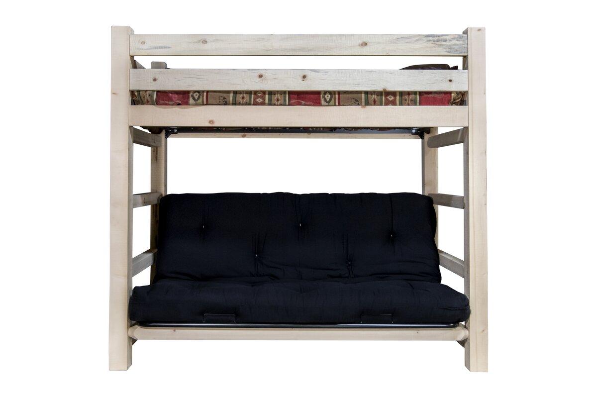 aida bunk bed 44   non toxic cotton twin futon mattress loon peak aida bunk bed 44   non toxic cotton twin futon mattress      rh   wayfair