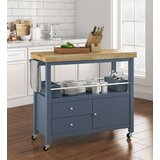 Gerolakkos Kitchen Cart by Winston Porter