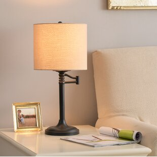 Compare prices Lukeson Landon 21 Table Lamp By Winston Porter