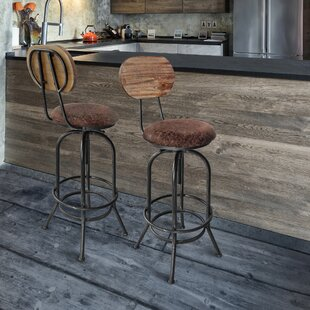 Best Choices Peavey Adjustable Height Swivel Bar Stool by Gracie Oaks Reviews (2019) & Buyer's Guide