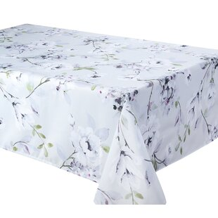 EHouseHome Indoor Outdoor Tablecloth Water Resistant Spill Proof Fabric Table Cover 60Inch Round Tablecloths,Paisley